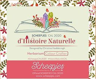 Scheepjes CAL 2020 d'Histoire Naturelle Crochet Along - Offizielle Colour Crafter Garnpackung