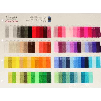 Scheepjes Farbkarte - Color Crafter - Jetzt mit echten Garnmustern!