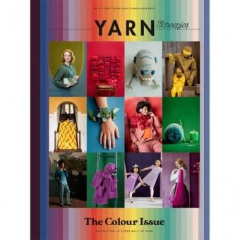 """Scheepjes YARN Nr. 10  """"The Colours Issue"""" Craft Book-A-Zine - Strickzeitschrift / Häkelmagazin"""