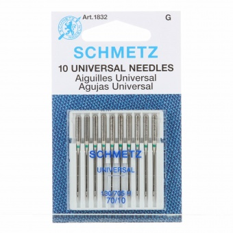Universal Nähmaschinennadeln - Schmetz Universalnadeln 130/705 H  No. 70 / 10