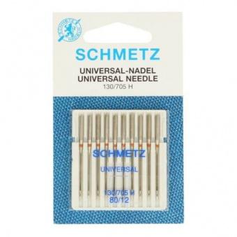 Universal Nähmaschinennadeln - Schmetz Universalnadeln 130/705 H  No. 80 / 10