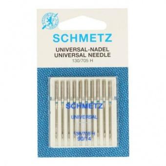 Universal Nähmaschinennadeln - Schmetz Universalnadeln 130/705 H  No. 90 / 14