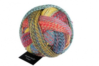 Crazy Zauberball Sockengarn mit Farbverlauf - Schoppel Sockenwolle Tapetenwechsel 2429