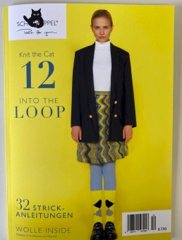 VORBESTELLUNG Knit the Cat 12 Into the Loop Magazin - Schoppel Strickheft Herbst / Winter 2020