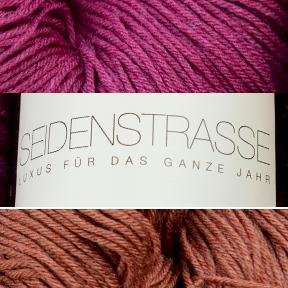 Seidenstrasse Seide-Merino-Strickgarn  - ALLE FARBEN! - Atelier Zitron