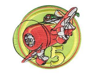 Rotes Flugzeug - Original Disney Planes & Cars Bügelapplikationen
