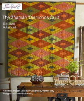The Shaman Diamonds Quilt by Parson Gray - Quilt Anleitung - GRATIS DOWNLOAD