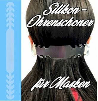 Silikon-Ohrenschoner für Behelfsmasken - Ohrenschützer für Alltagsmasken & DIY Nasen-Mund-Maske