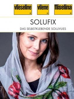 Solufix - Selbstklebendes, Fixierbares, Wasserlösliches Stickvlies - 45cm x 25m Rolle