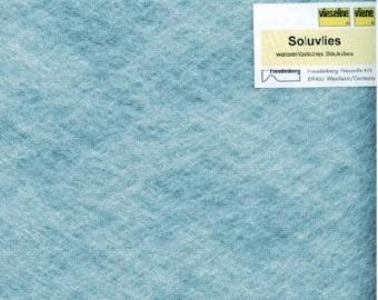Soluvlies - Wasserlösliches Stickvlies