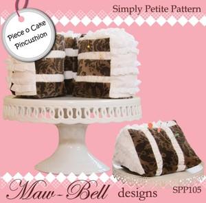 Piece of Cake Pincushion - Maw-Bell Törtchennadelkissen