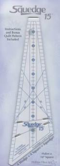 15° Grad Lineal - 15 Degree Squedge Ruler