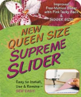 QUEEN Size Supreme Slider - Extra Rutsch Matte zum Freihand Quilten