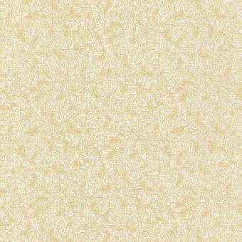 Goldene Blätter auf Wollweiß - Off-White Blanc & Gold Fusions Regent