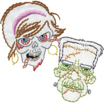 Zombies & Monsters - Sublime Stitching