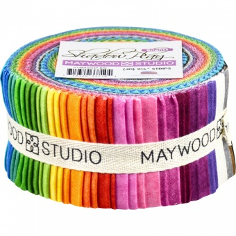 50er Stoffschnecke - Shadow Play Brights Stoffpaket - Maywood Studios Basics Patchworkstoffe