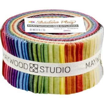40er Stoffschnecke - Shadow Play Natural Stoffpaket - Maywood Studios Basics Patchworkstoffe