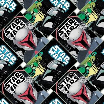 "Star Wars Boba Fett Lizenzstoff - Originalstoff Meterware ""The Mandalorian"" - Limited Edition!"