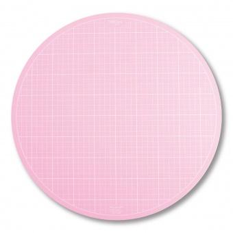 XXL Rosa 360° drehbare Schneidematte - Busyfingers / Tula Pink - 14 inches