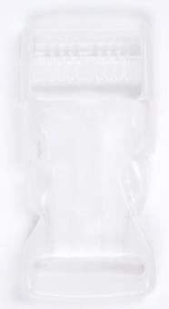 30mm / 3cm Steckverschluss / Klickverschluss / Steckschließe - transparent