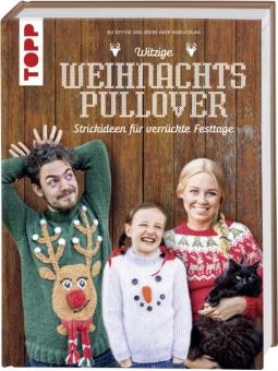 Witzige Weihnachtspullover - Strickideen für verrückte Festtage