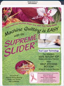 Supreme Slider - Extra Rutsch Matte zum Freihand Quilten