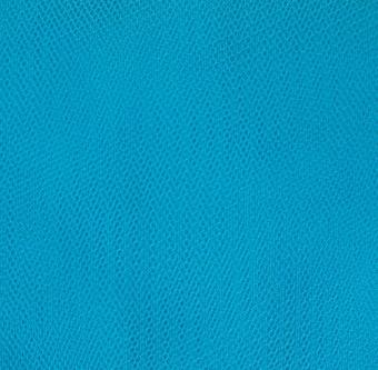 Türkiser Wabentüll - Tüll Türkis - Peacock Blue