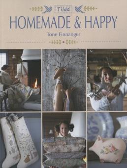 Winter- & Weihnachtsbuch von Tone Finnanger - Tilda Homemade & Happy