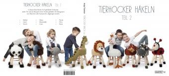 Tierhocker häkeln Teil 2 / Buch 2 Anja Toonen deutsch