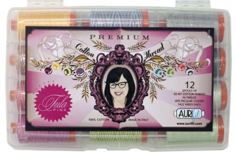 Tula Pink Premium Collection - Aurifil Garnsortiment