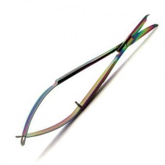 Pinzettenschere / Fadenschere mit Hakenklinge - Original Tula Pink Hardware - 4.5 inch EZ Stitch Snip with Hook Blade
