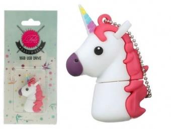 Einhorn USB Stick - Original Tula Pink Hardware - 16GB Unicorn