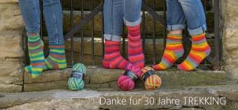 Trekking Color XXL 4-fach - 4-fädiges Sockenstrickgarn - ALLE FARBEN! - Atelier Zitron