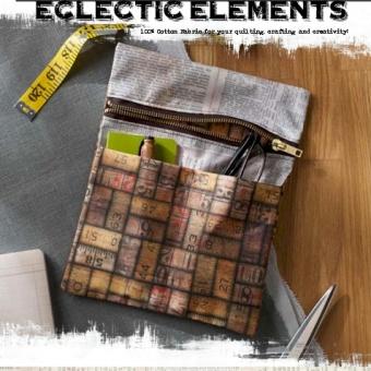 Anleitung - Zipper Pocket Caddy - Tim Holtz Eclectic Elements - GRATIS DOWNLOAD