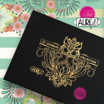 Ultimate Thread Collection by Tula Pink - 45 Spulen Aurifil Garn als Garnsortiment - SONDERBESTELLUNG!