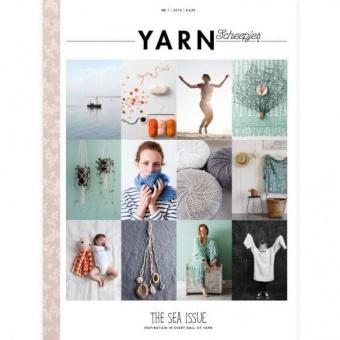"""Scheepjes YARN Nr.1 Book-A-Zine - """"The Sea Issue"""" Strickzeitschrift / Häkelmagazin"""