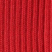 Rote Ärmelbündchen - 1 Paar - 70mm Milward Bündchen