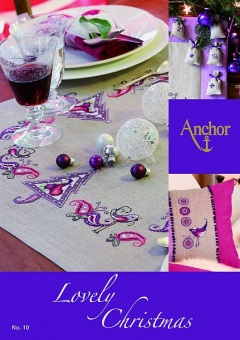 "Anchor Kreuzstichbuch ""Lovely Christmas"" - Kreuzstichmotive Advent & Weihnacht"
