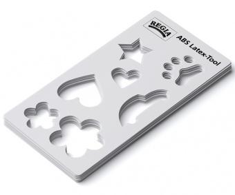 REGIA Latex Schablone für flüssigen Socken-Stopp