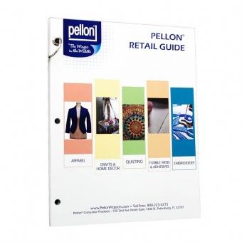 Pellon Batting Vliesmusterbuch - Das Gesamtsortiment mit Fühlmustern auf einen Blick - Vliesmustermappe