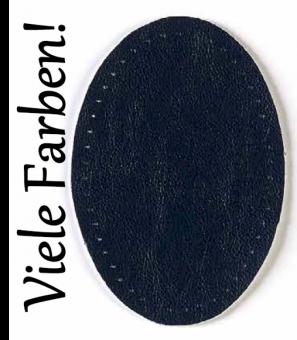 Verschiedene Velours-Lederflicken - Kunstlederflicken - Lederimitat Flecken