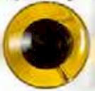 Klare Augen Knöpfe - Duchsichtige Sicherheitsaugen / Tieraugen 22mm