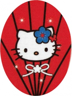 Hello Kitty Patch Flicken Bügelapplikationen - Original Sanrio
