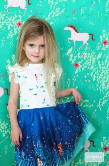 Wee Wander Kleidchen - Mädchenkleid Schnittmuster - GRATIS DOWNLOAD