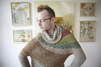 DEUTSCH! Enchanted Mesa by Stephen West - Deutsche Westknits Strickanleitung