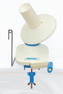 Royal Knäuelwickler / Wollknäuelwickler / Wickelmaschine