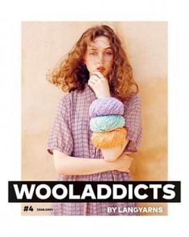 Wooladdicts #4 - Trendiges Strickmagazin - Lang Yarns Anleitungsbuch & Strickheft Nr.2