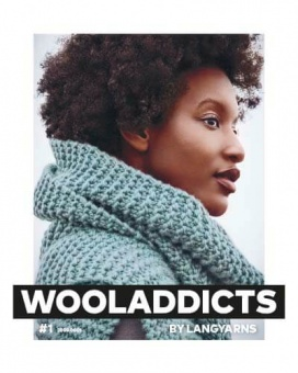 Wooladdicts #1 - Trendiges Strickmagazin - Lang Yarns Anleitungsbuch & Strickheft Nr.1