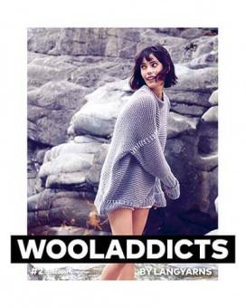 Wooladdicts #2 - Trendiges Strickmagazin - Lang Yarns Anleitungsbuch & Strickheft Nr.2
