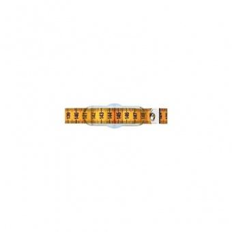 Taillenmaßband 150 cm - Zentimetermaß mit Verschieber - Metermaß mit Schieberegler